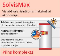 Apkures sistēma SolvisMax